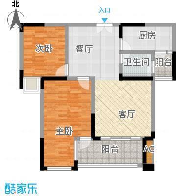 协信云栖谷77.85㎡10号楼1号房面积7785m户型
