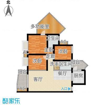 蜂巢103.20㎡3\4号房1面积10320m户型