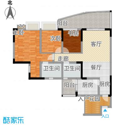 青河世家99.48㎡2、8号楼3、4号面积9948m户型