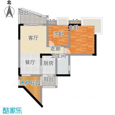 青河世家67.13㎡9号楼1号房面积6713m户型