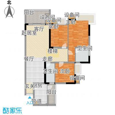 华宇林泉雅舍二期2户型