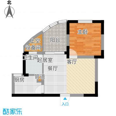 华宇林泉雅舍二期1户型