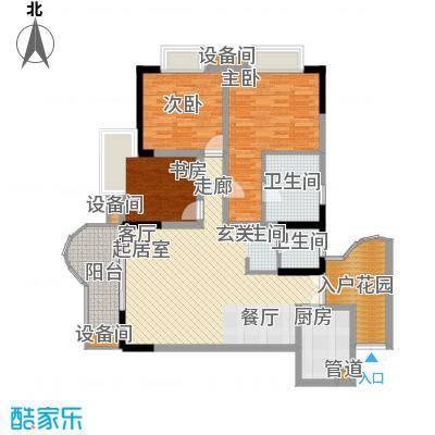 金地广场97.30㎡13面积9730m户型