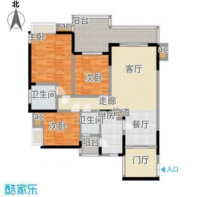 协信天骄城108.00㎡10/11栋C43面积10800m户型