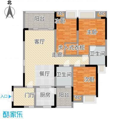 协信天骄城110.85㎡C2型2面积11085m户型
