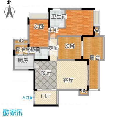 协信天骄城110.00㎡10/11栋C13面积11000m户型