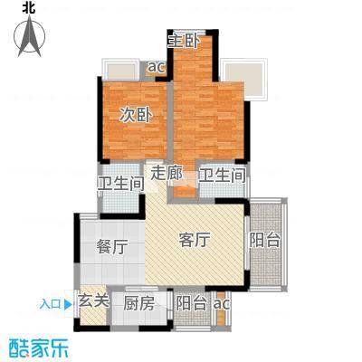 协信天骄城86.91㎡B3型2面积8691m户型