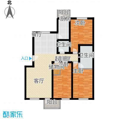 安信家园114.00㎡面积11400m户型