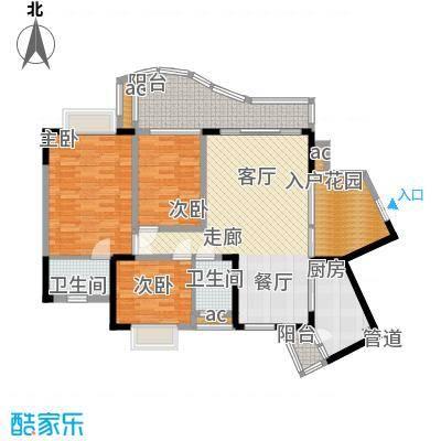 华宇渝州新都114.00㎡9号楼A座1号面积11400m户型