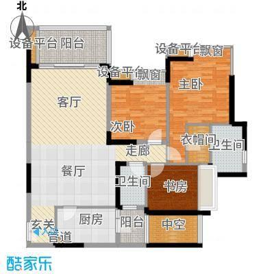 金辉苹果城103.56㎡7号楼C2面积10356m户型