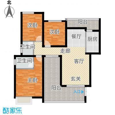 龙湖悠山香庭102.00㎡c3-4面积10200m户型