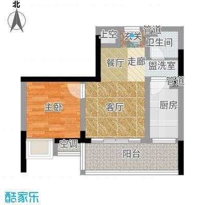 香堤花径41.20㎡一期1/2/3/4号楼面积4120m户型