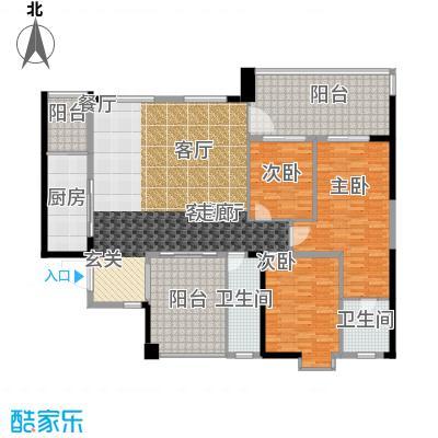 瑞丰花苑98.00㎡面积9800m户型