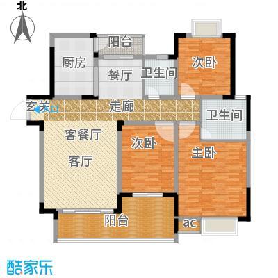 瑞丰花苑136.00㎡面积13600m户型
