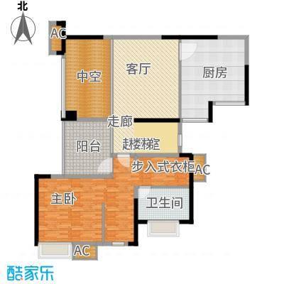 鹏润蓝海145.19㎡C4、面积14519m户型