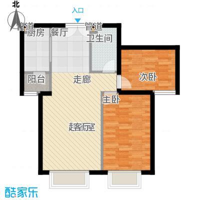 青青佳苑61.00㎡面积6100m户型