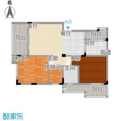 渝水坊二期81.00㎡一期4号楼1单元4层(跃下)1号房1室户型