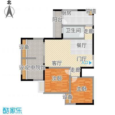 碧云龙庭汇景101.55㎡一期A-B号楼标准层3号户型