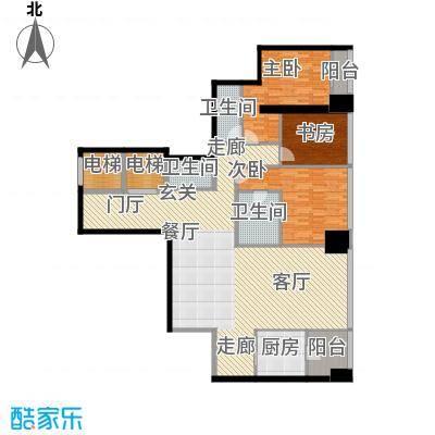 融创玖玺台177.00㎡一期2号楼标准层G户型