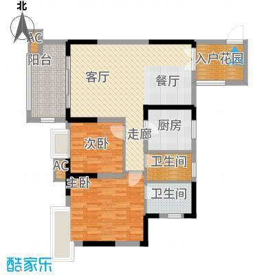 北城阳光今典79.89㎡4号楼6号房面积7989m户型