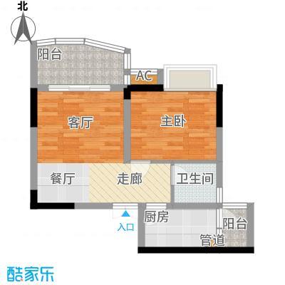 水务龙城天都44.21㎡3栋4、5号房面积4421m户型
