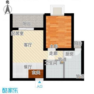 国宾豪庭40.73㎡C面积4073m户型