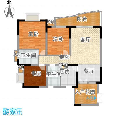 上海城104.18㎡28号楼面积10418m户型