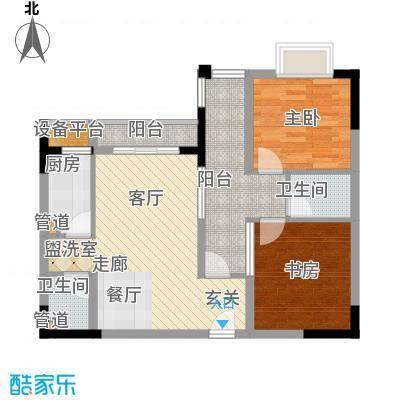 光华风和日丽29.94㎡4号楼3面积2994m户型