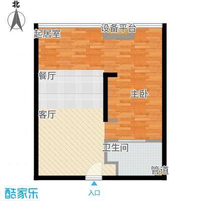 亚太商谷47.25㎡F(售完)面积4725m户型