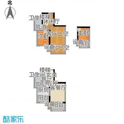 融创御锦73.00㎡二期1-7号楼标准面积7300m户型