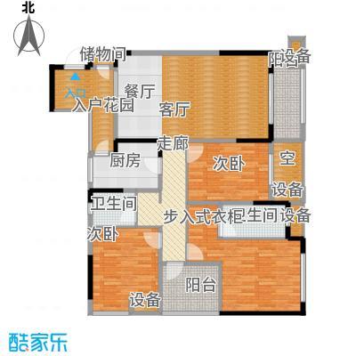 旭辉新里城109.14㎡二期53/58号楼面积10914m户型