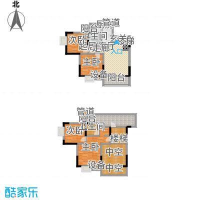 廊桥水岸155.72㎡3号楼标准层B1户型
