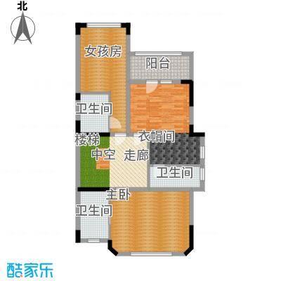 翡翠御园157.00㎡一期1-72栋B3二层户型