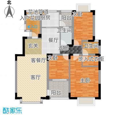 中兴渝景苑106.89㎡C6面积10689m户型