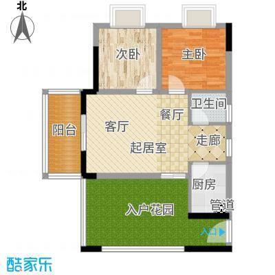 昌福盛景郦城62.13㎡62132户型