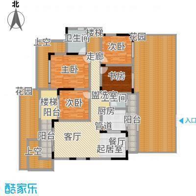 江山领秀139.00㎡一期1号楼跃层洋房C2户型