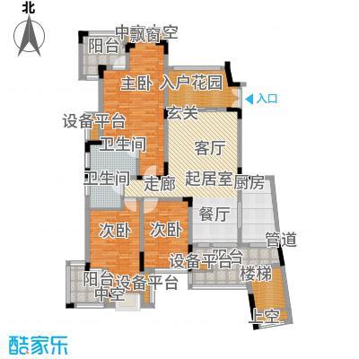 旭辉朗香郡186.00㎡三期42号楼二面积18600m户型