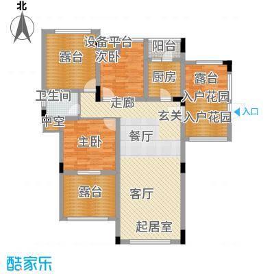 旭辉朗香郡81.92㎡一期2号楼D8-面积8192m户型