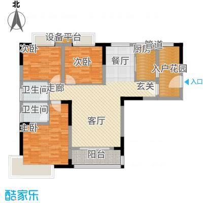 泰吉滨江二期岭澜95.90㎡一期C5栋标准层5号房(售完)户型