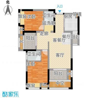 首创光和城79.00㎡三期2号楼标准层A3户型