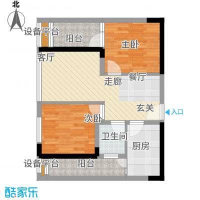 学林佳苑60.12㎡B4、B11面积6012m户型