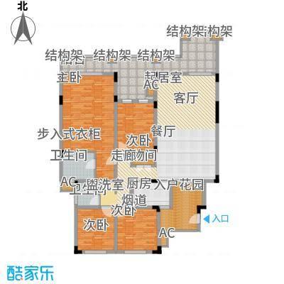 奇峰云邸144.74㎡一期1-3号楼标准层A5-2户型