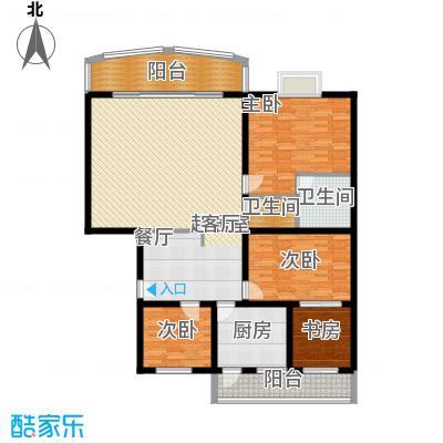庆业巴蜀城145.00㎡面积14500m户型