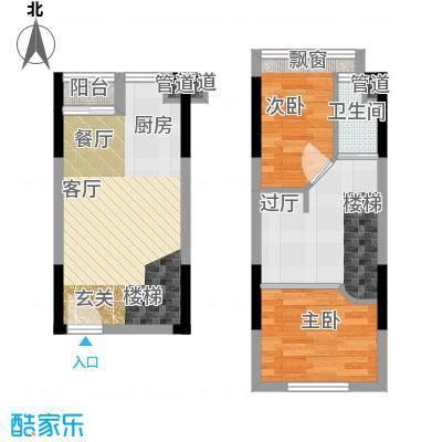 同景国际城迈上32.41㎡2、3号楼面积3241m户型