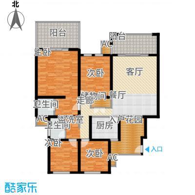 奇峰云邸129.83㎡一期1-3号楼标准层A5-3户型