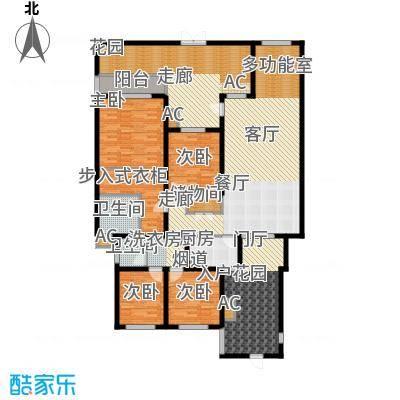 奇峰云邸153.60㎡一期1-3号楼标准层A5-1户型