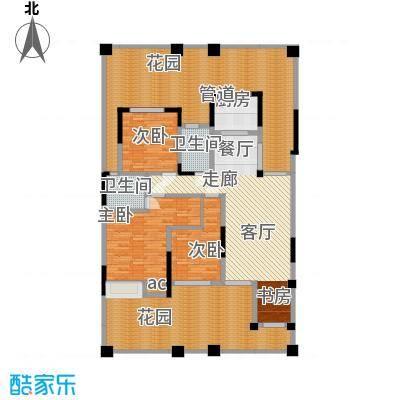 巨龙江山国际119.23㎡1期洋房1/2/6/7栋标准层A1户型