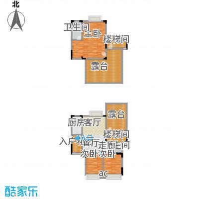 巨龙江山国际140.25㎡1期洋房1/2/6/7栋标准层D6户型