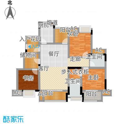爱情谷103.00㎡一期7、8、9、10、11、12号楼标准层C3户型
