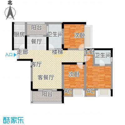 金科绿韵康城95.64㎡16、18号楼面积9564m户型